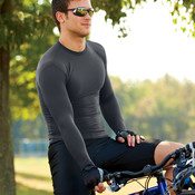 Adult B-Fit Long-Sleeve Compression Tee