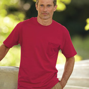 Adult Tagless® Pocket Cotton Tee