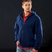 Adult SupercottonTM Full-Zip Hooded Sweatshirt