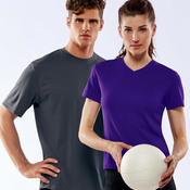 Ladies' Cool & Dry Sport V-Neck Mesh Performance Tee