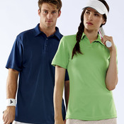 Ladies' Cool & Dry Elite Interlock Performance Polo