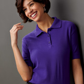 Ladies' Whisper Pique Blend Polo