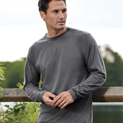Organic Men's Ring-Spun Organic Cotton Long-Sleeve Crewneck Tee