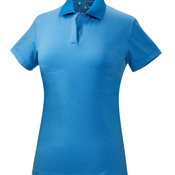Ladies' ClimaLite Classic Stripe Performance Polo