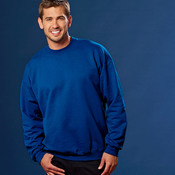 Adult Ultimate Cotton® Blended Crewneck