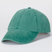 Solid Low-Profile Pigment-Dyed Unconstructed Cotton Cap