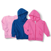 Toddler Hooded Blended Sweatshirt with Pockets