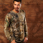 Adult REALTREE® Camouflage Cotton Long-Sleeve T-Shirt