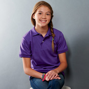 Youth 50/50 Jersey Polo with SpotShield®