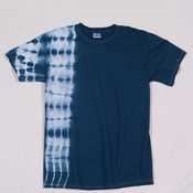 Gildan Tie-Dye Adult Cotton One-Color Fusion Tee