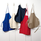 Large Two-Pocket Blend Bib Apron
