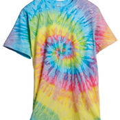 tie-dyes Adult Tie-Dyed Cotton Tee