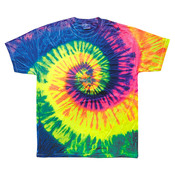 tie-dyes Youth Tie-Dyed Cotton Tee