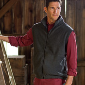 Polyester Iceberg Fleece Full-Zip Vest