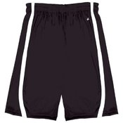 "Youth B-Slam Reversible 6"" Short With Contrast Side Panel Trim."