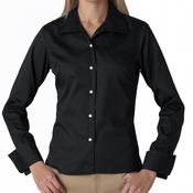 Ladies' Whisper Elite Twill Blend Woven Shirt