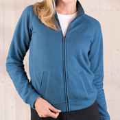 Ladies' French Terry Raglan Cadet Jacket