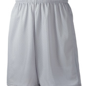 "Adult Tricot-Lined 9"" Mesh Shorts"