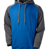 Adult Color Block Tech Fleece Hoodie