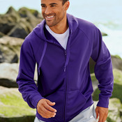 Adult JERZEES® SPORT TECH FLEECE Full-Zip Hooded Sweatshirt